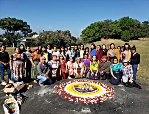 Ceremonia Maya por apertura del Diplomado de Género 2020